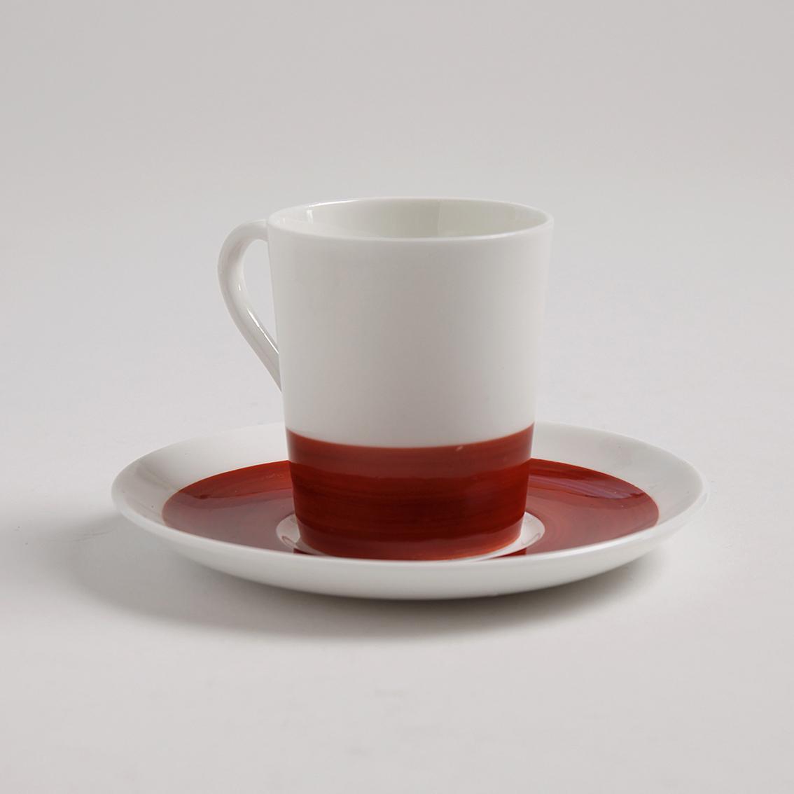 Gustavsberg  Gustavsberg  グスタフスベリ Color カラー デミタスコーヒーカップ&ソーサー(レッド) 北欧ヴィンテージ