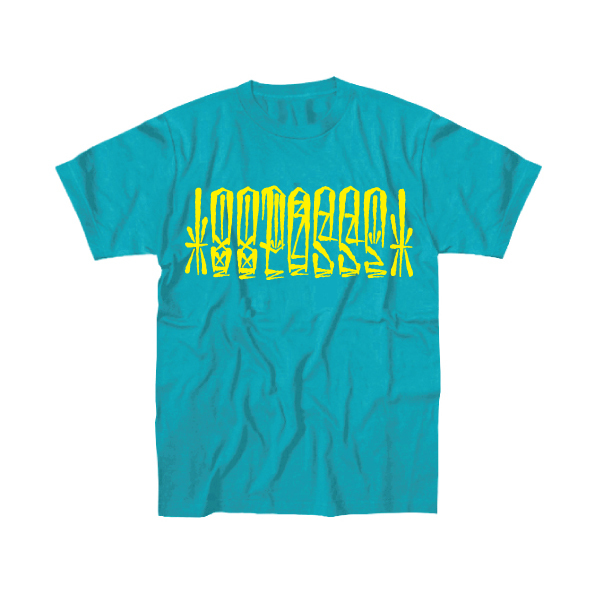 88POSSE T-SHIRTS(TURQUOISE×YELLOW)