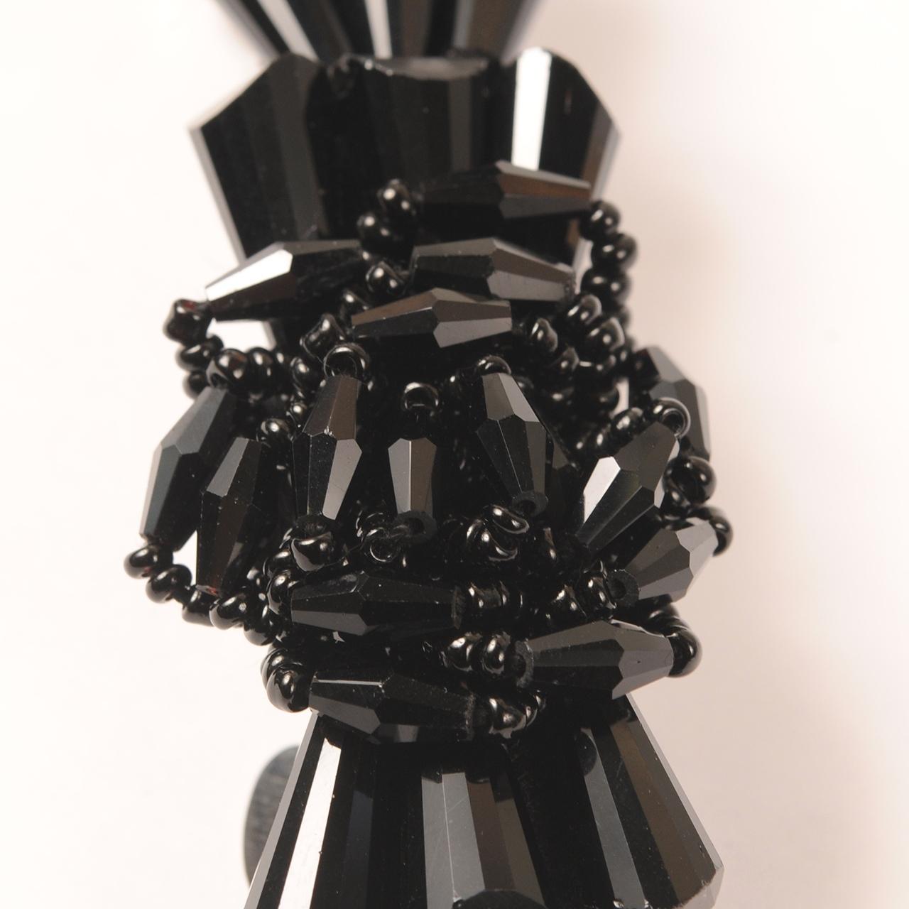 Joe20SS-47 volume beads barrette