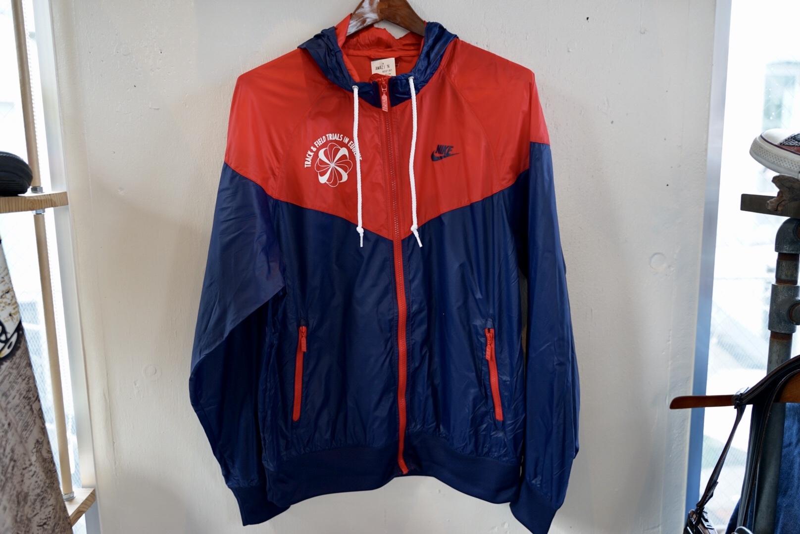 Nike 70s ナイロンジャケット 風車ロゴ