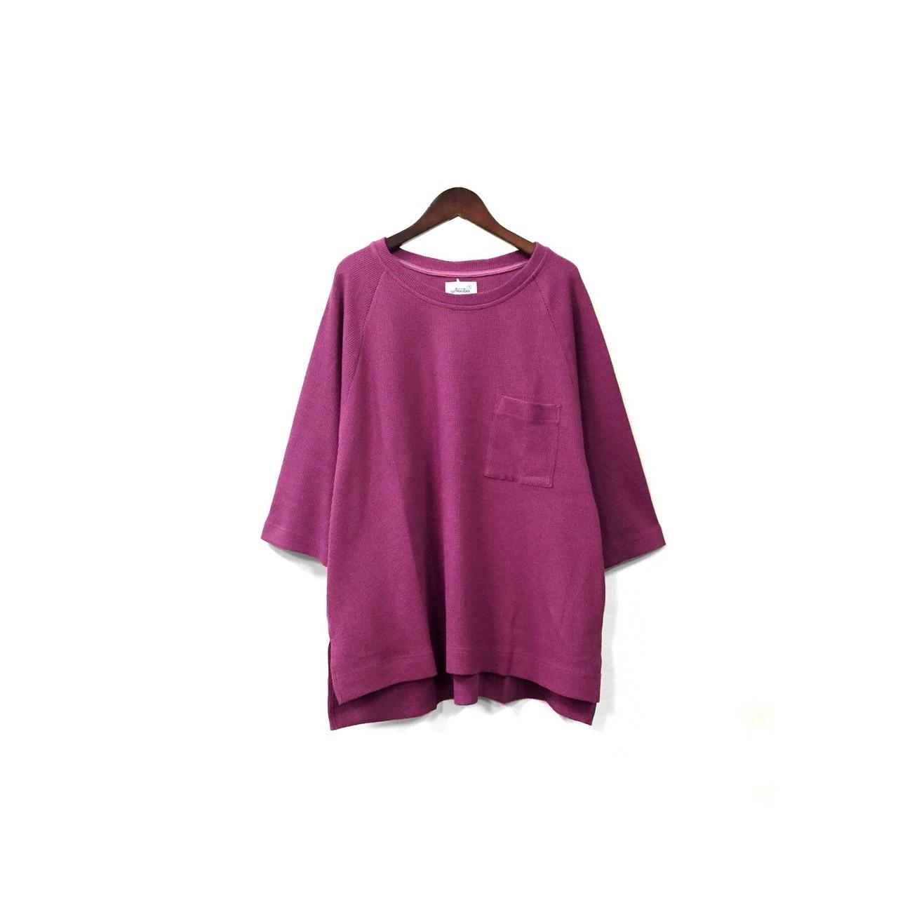 yotsuba - Thermal Tops / Purple ¥11000+tax