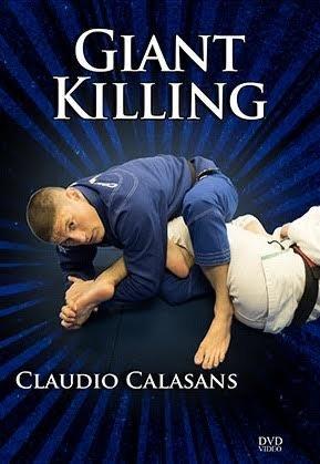 ジャイアント・キリング クラウジオ・カラザンス 4枚組DVD|ブラジリアン柔術テクニックDVD
