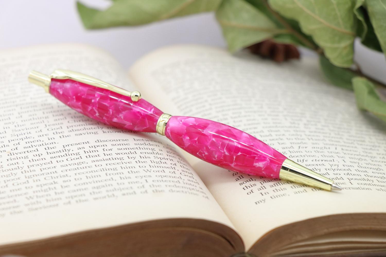「Luna Pencil 0.7mm・フランボワーズアイス」Viriditas手作りシャープペンシル