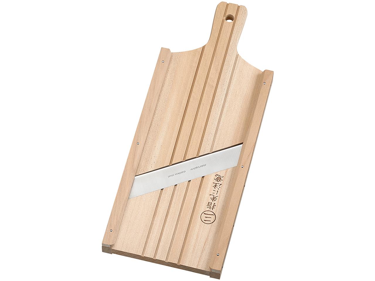 木製調理器 「ウッディースライサーワイド」 キャベツは千切りになります!