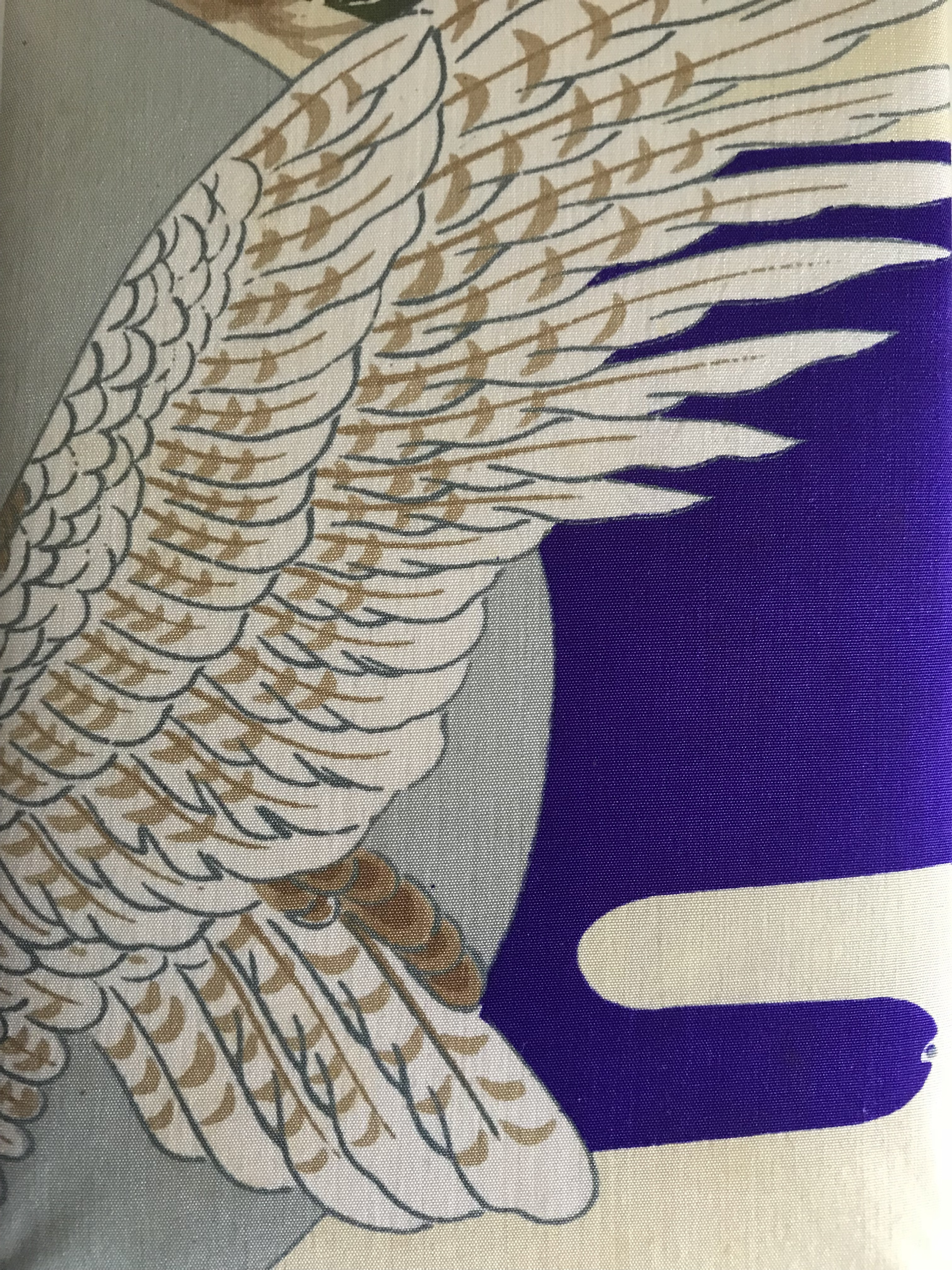 鷹が羽ばたく御朱印帳