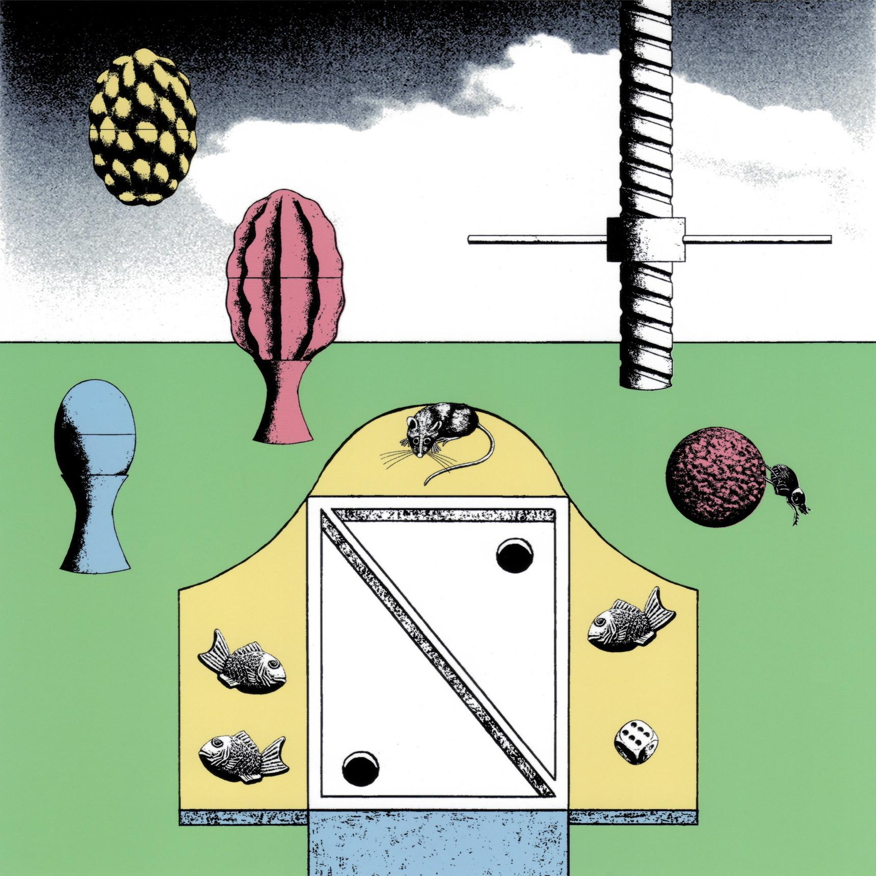 絵画 インテリア アートパネル 雑貨 壁掛け 置物 おしゃれ 現代アート イラストレーション ロココロ 画家 : 斉木晃 作品 : 続きの続き