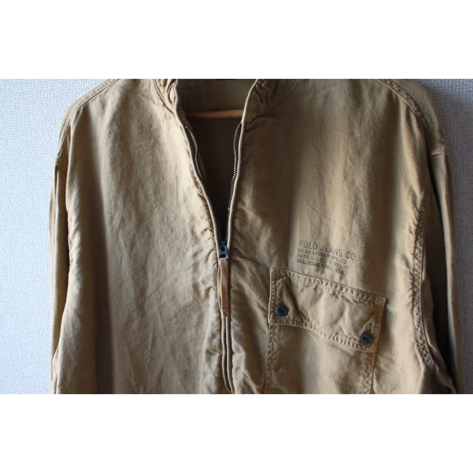 Vintage half zip shirt by Polo jeans co.