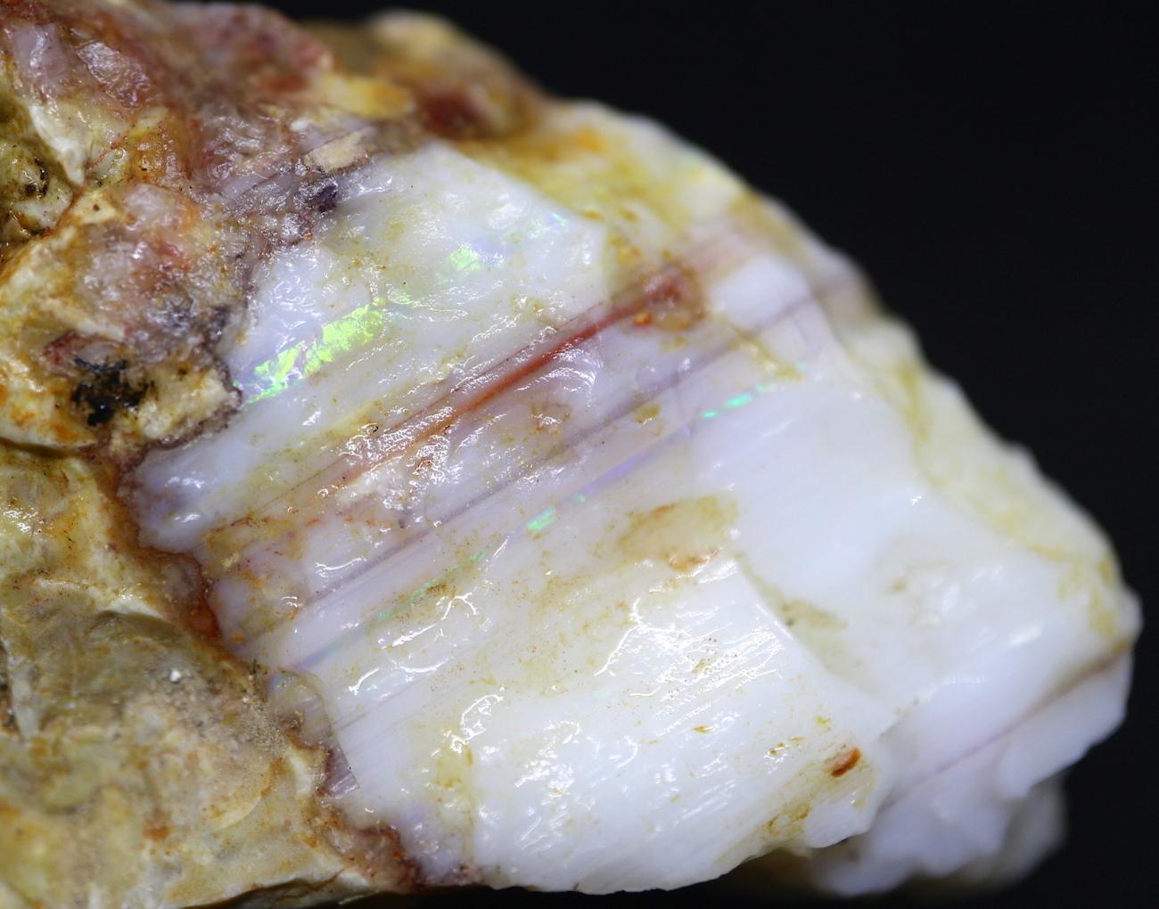 スペンサーオパール アイダホ産 58,8g SCO011 原石