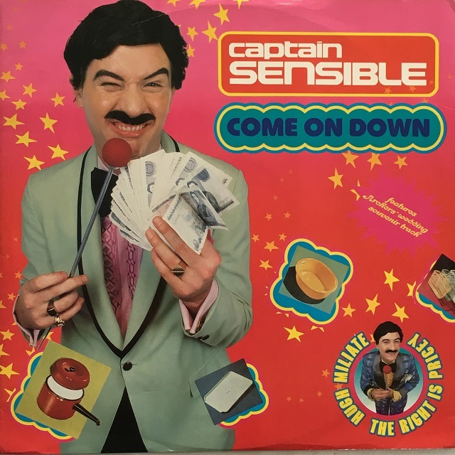 【12inch・英盤】Captain Sensible / Come On Down