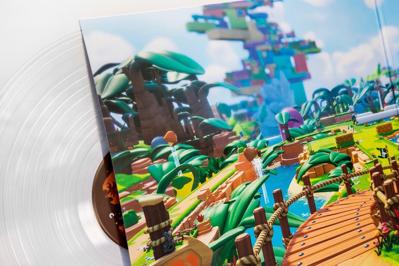 マリオ+ラビッツ/MARIO+RABBIDS キングダムバトル - オリジナルサウンドトラック【アナログレコード】(UBISOFT/SWITCH) / iam8bit