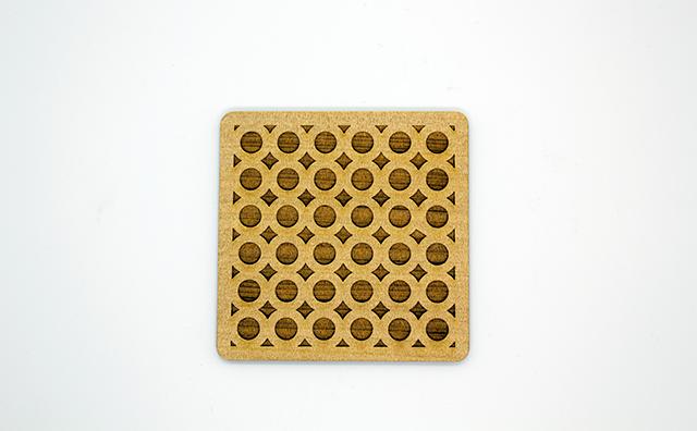 coaster / 木のコースター3枚セット(刻印タイプ)のイメージ画像