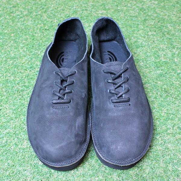 """Rainbow Sandals(レインボーサンダル) """"The Mocca Shoe(モカシュー)"""" BLACK(ブラック)"""