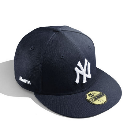 MoMA x New Era NY Yankees Fitted Cap