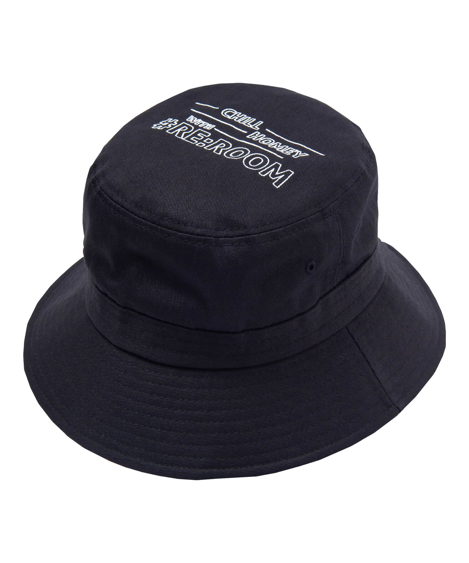MESSAGE EMBROIDERY BAGUETTE HAT[REH107]