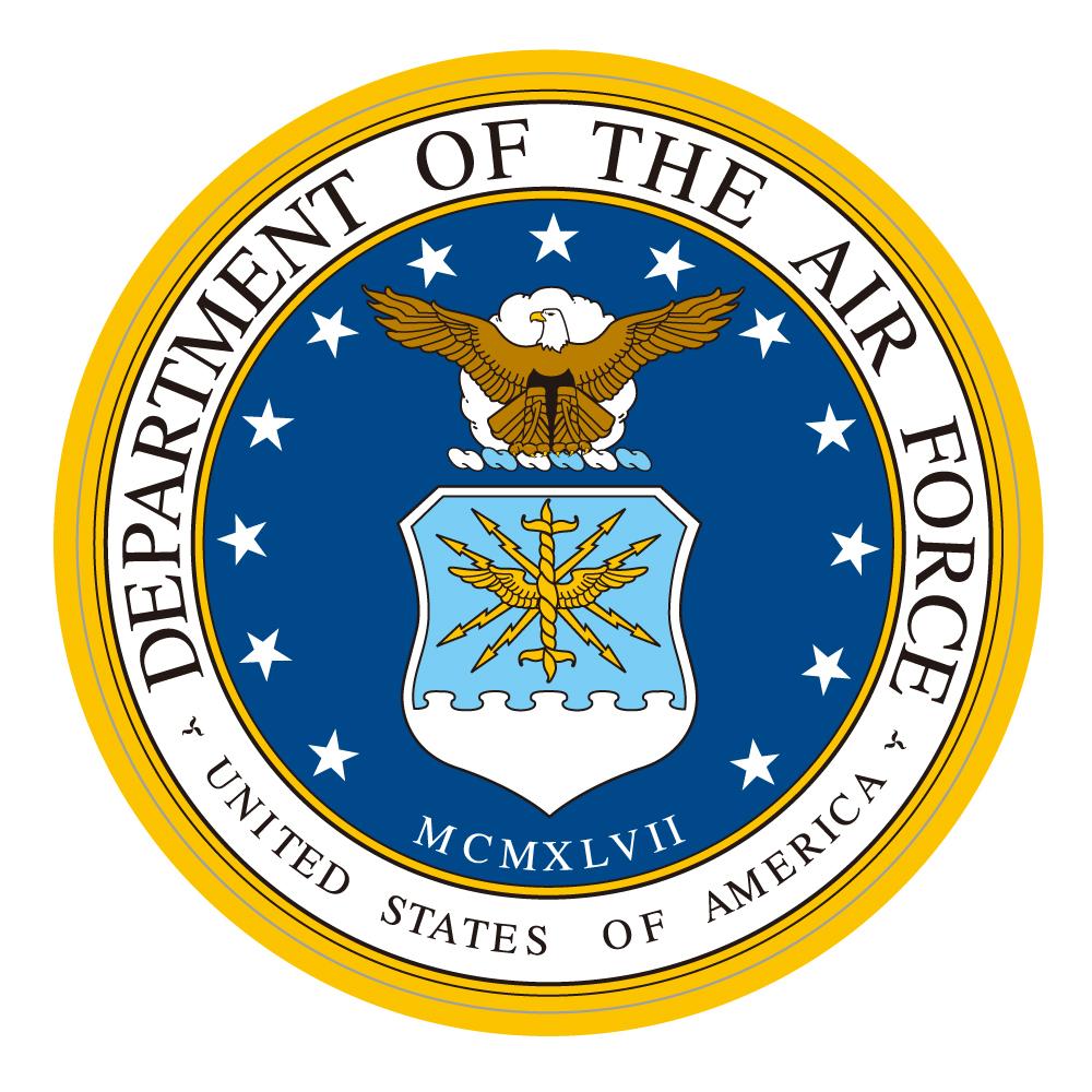 """294 米国空軍  """"California Market Center"""" アメリカンステッカー スーツケース シール"""