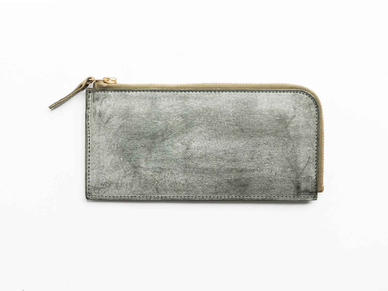 トワクレZipper Wallet Longグリーン
