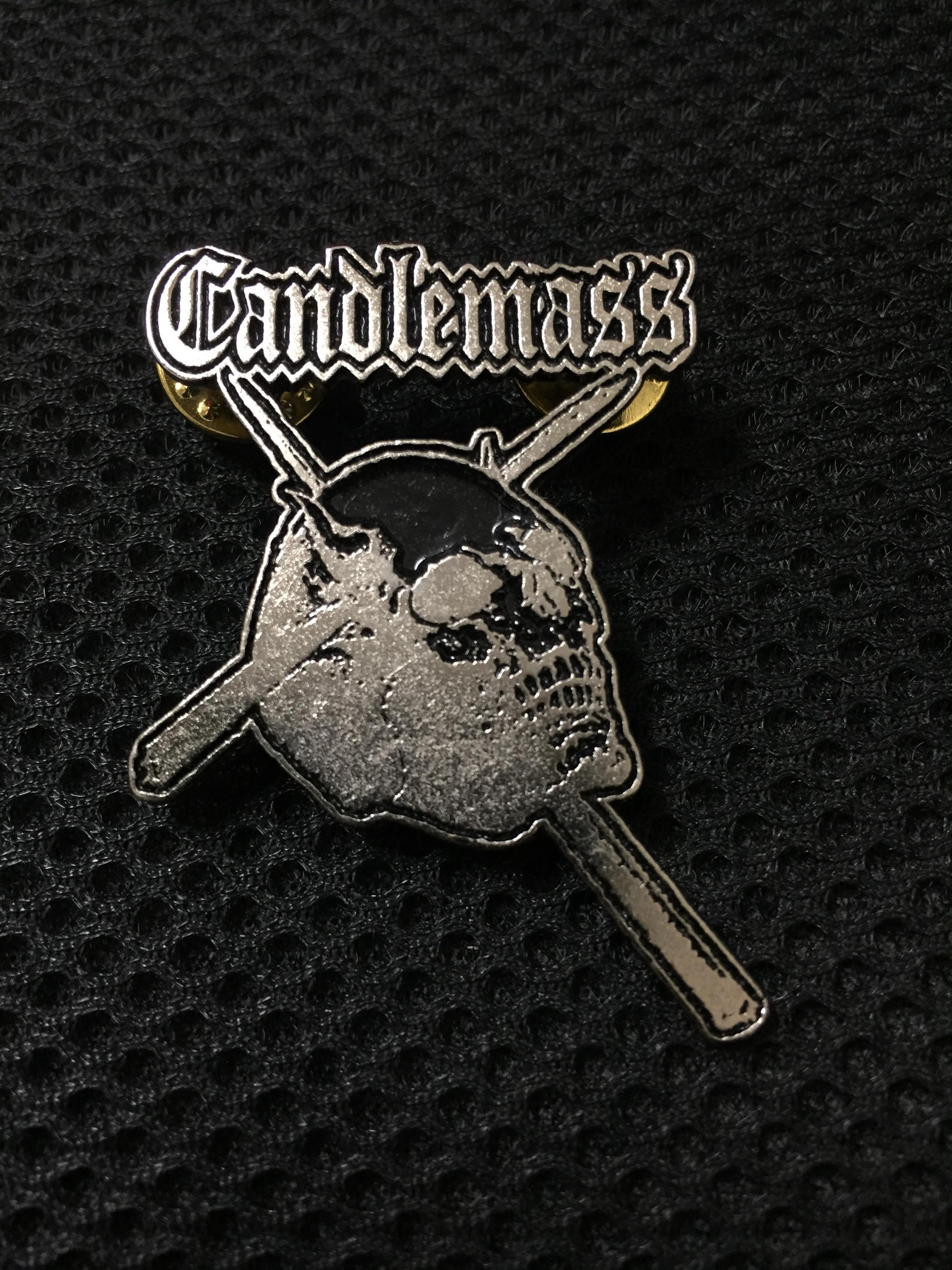 CANDLEMASSメタルピンバッチ