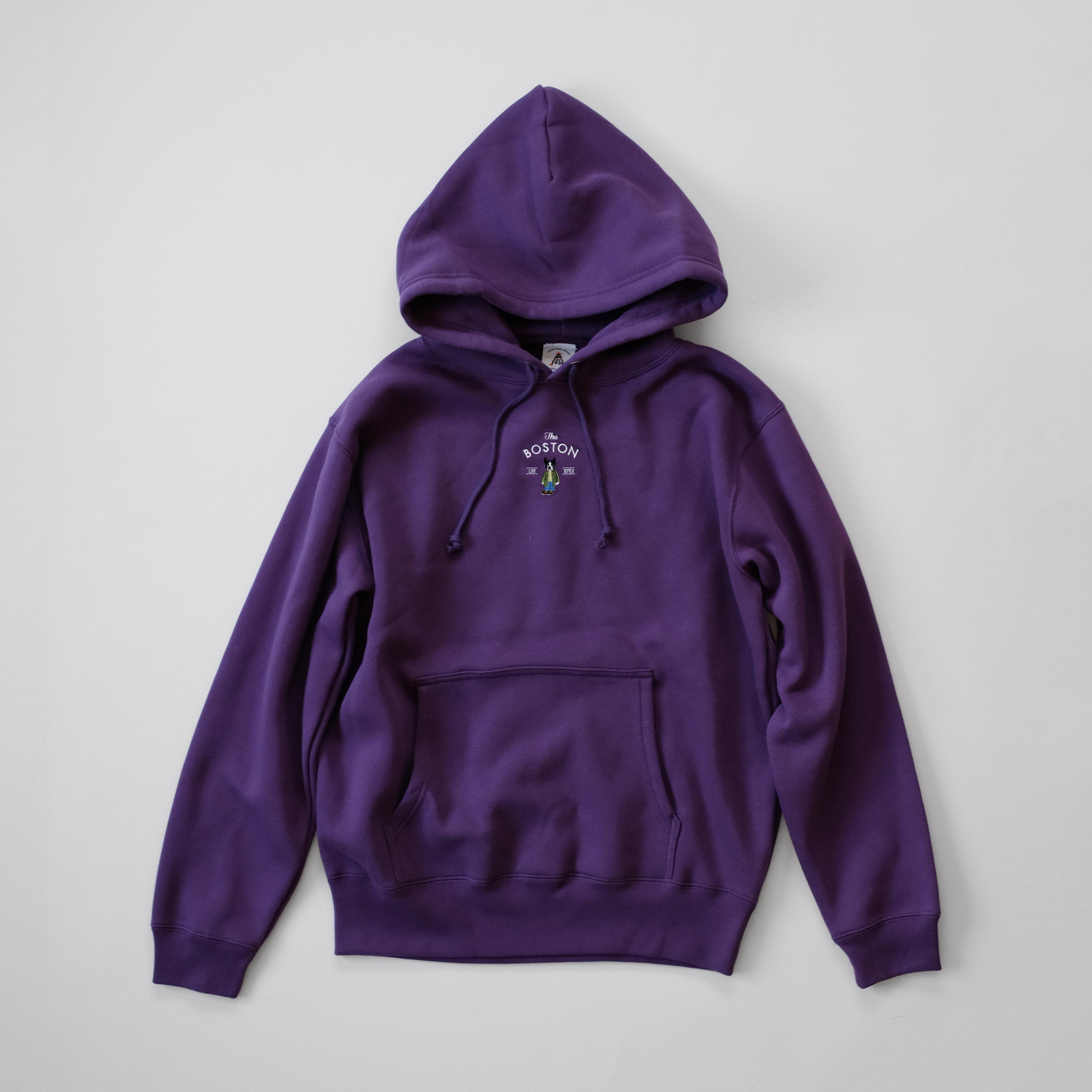 Boston Hooded Sweat[Purple]