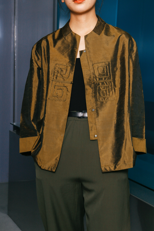 90's Silk Shanting China L/S Shirt