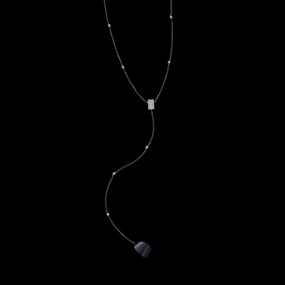 jg <SwingBlack> ネックレスK18 【受注生産】TWN-1853904 (在庫あり)
