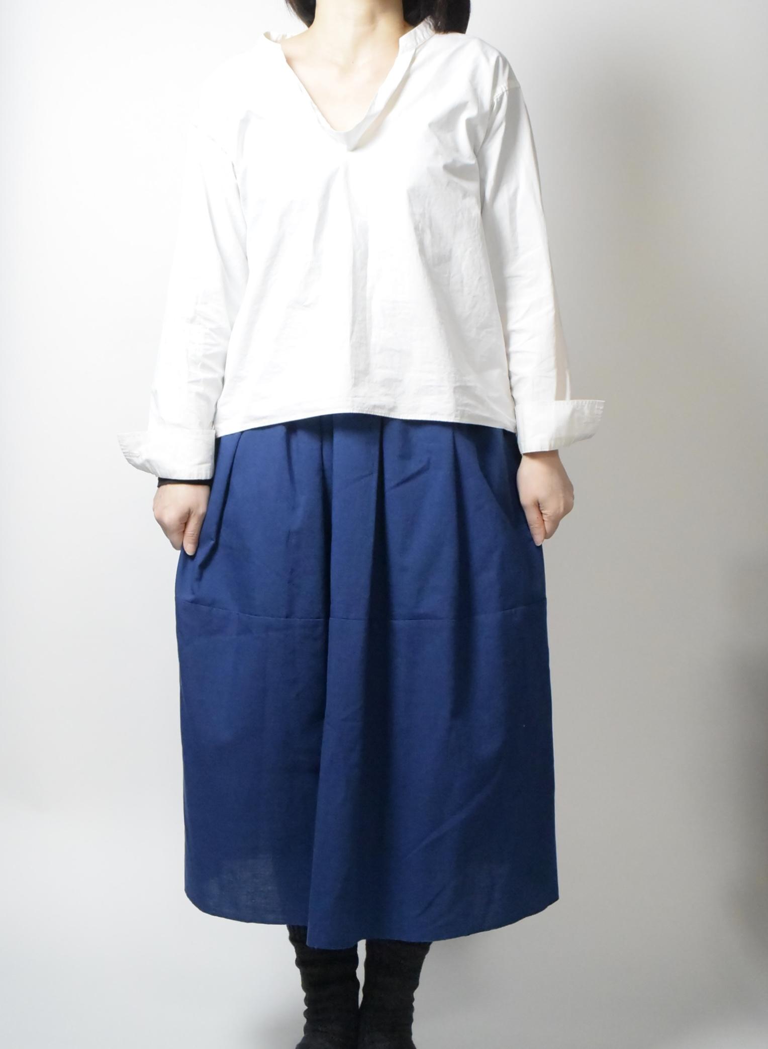 うなぎの寝床 久留米絣スカート