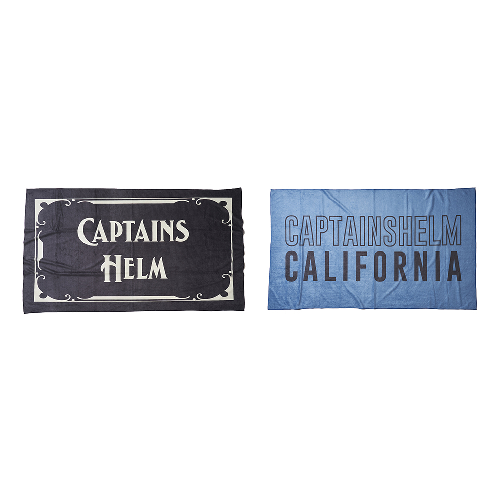 CAPTAINS HELM #Micro-Fiber Big Beach Towel