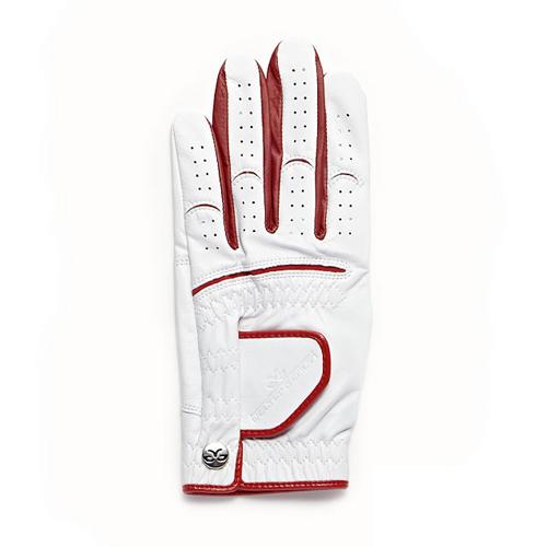 【Men's】 Athlete Glove white-red