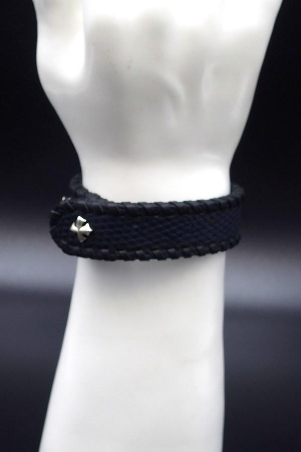 Item No.0305: Bracelet/ Lizard《Navy blue》