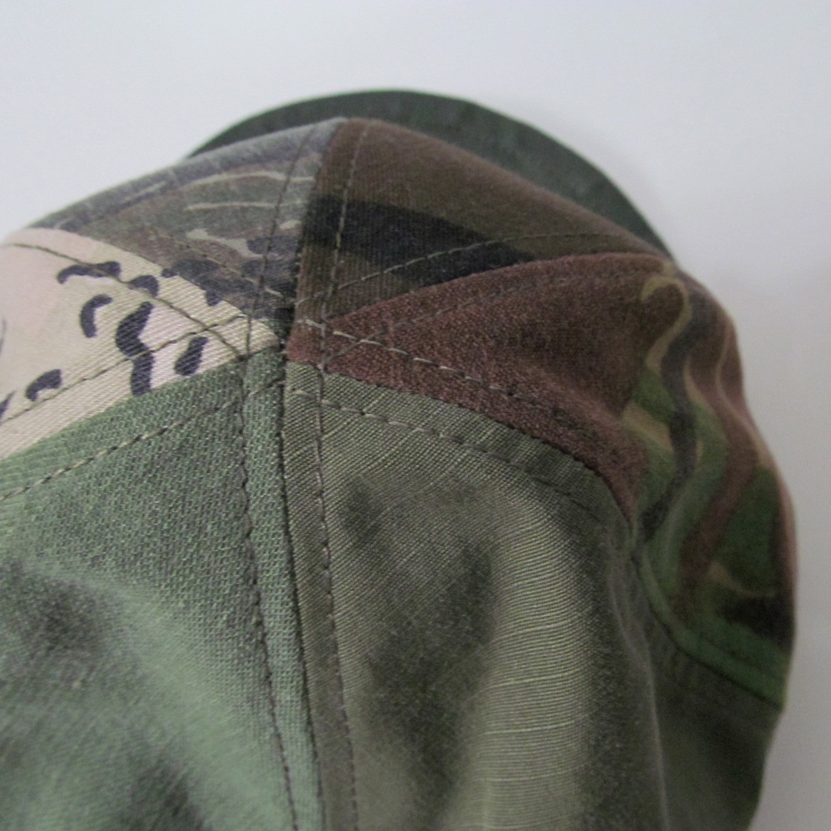CAMO CRAZY PATTERN MODIFIED CAP