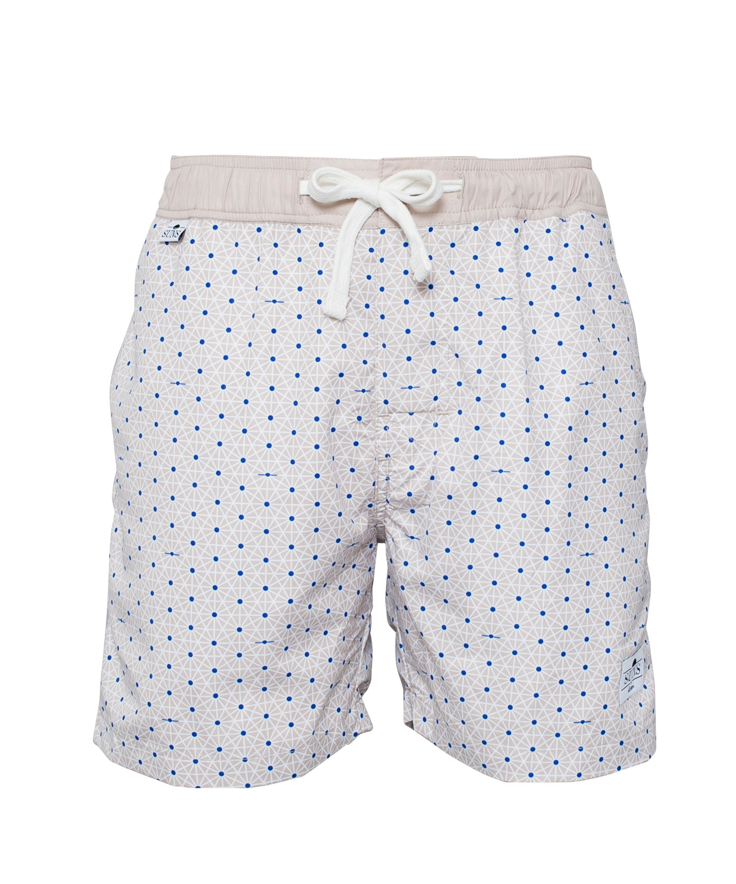 SUNS GEOMETRIC DOT PRINT SWIM SHORTS[RSW009]