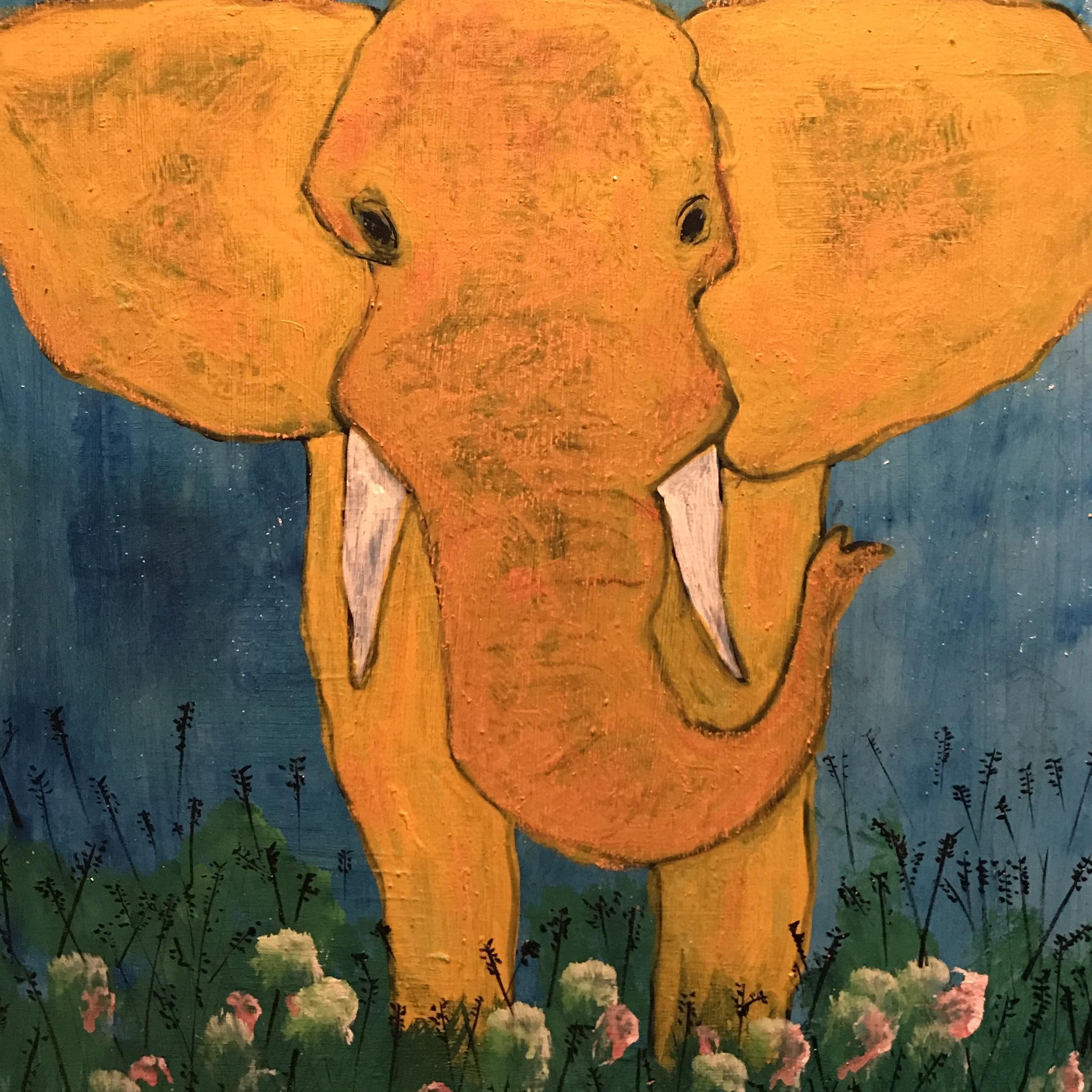 Elephant and a barbar (digital/WAV)