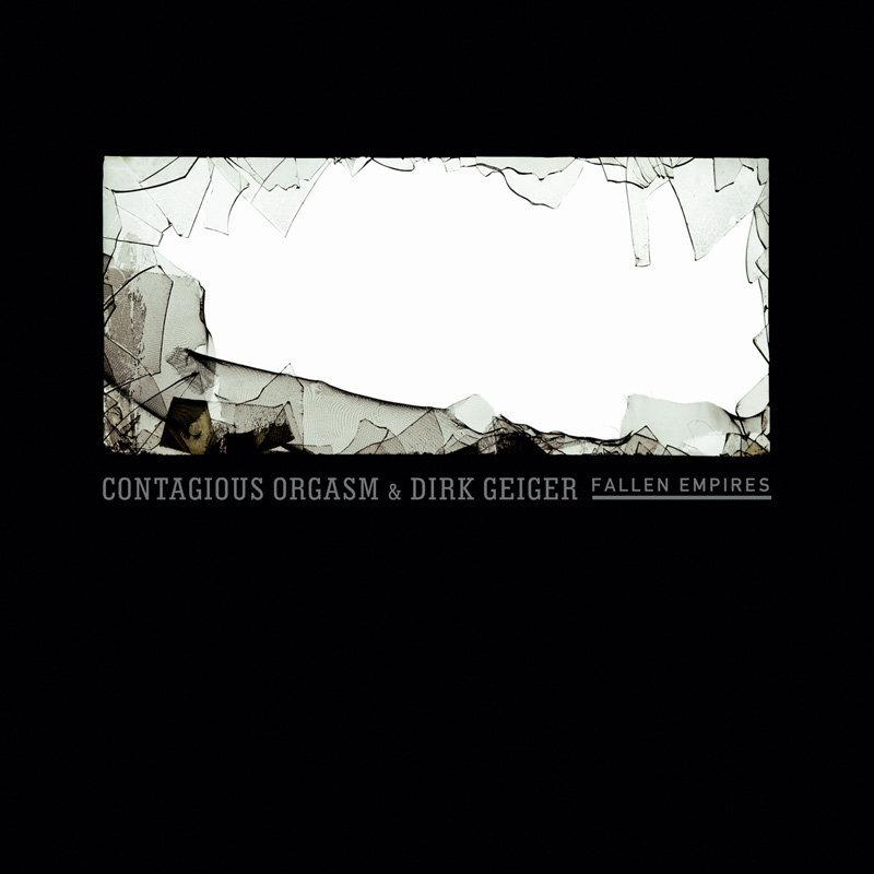 Contagious Orgasm & Dirk Geiger - fallen empires cd - 画像1