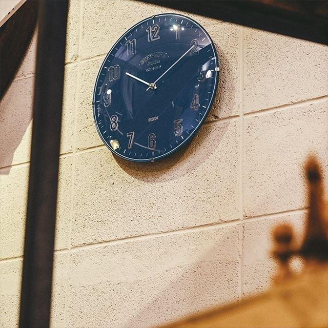 電波時計 レトロ Bouliac ~ブリアック~ CL-1374 インターフォルム - 画像1