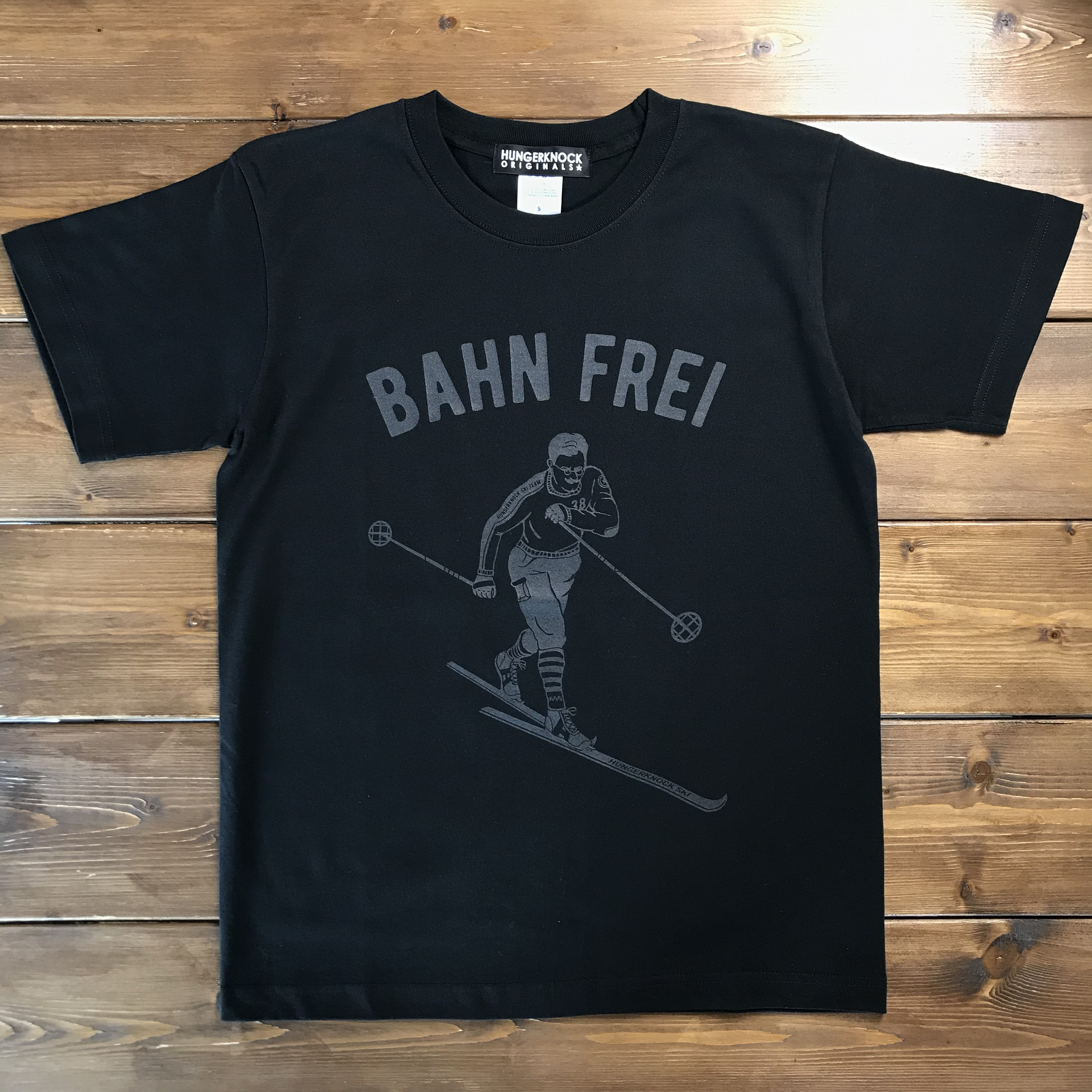 BAHN FREI Tee /black