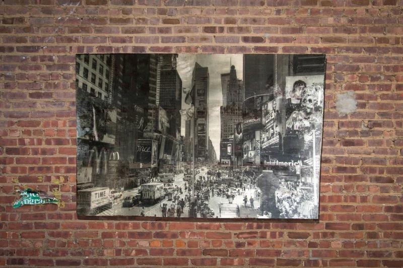 New York, Times Square (monochrome edition)