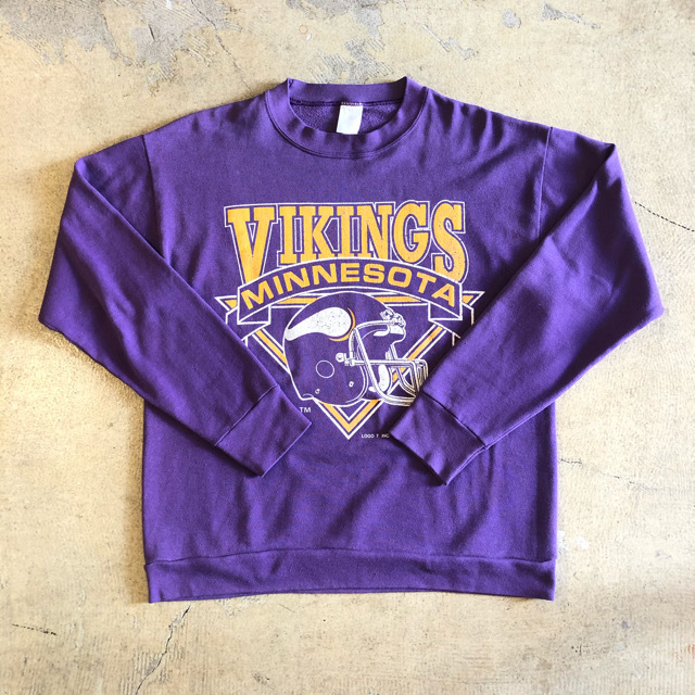 Minnesota Vikings Print Sweat ¥4,700+tax