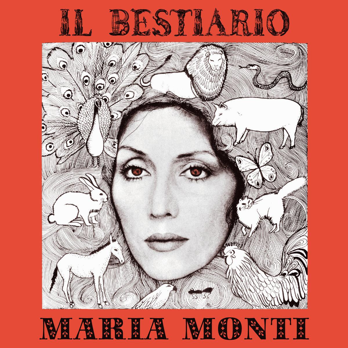 MARIA MONTI 『IL Bestiario』(UNSEEN WORLDS)[LP]