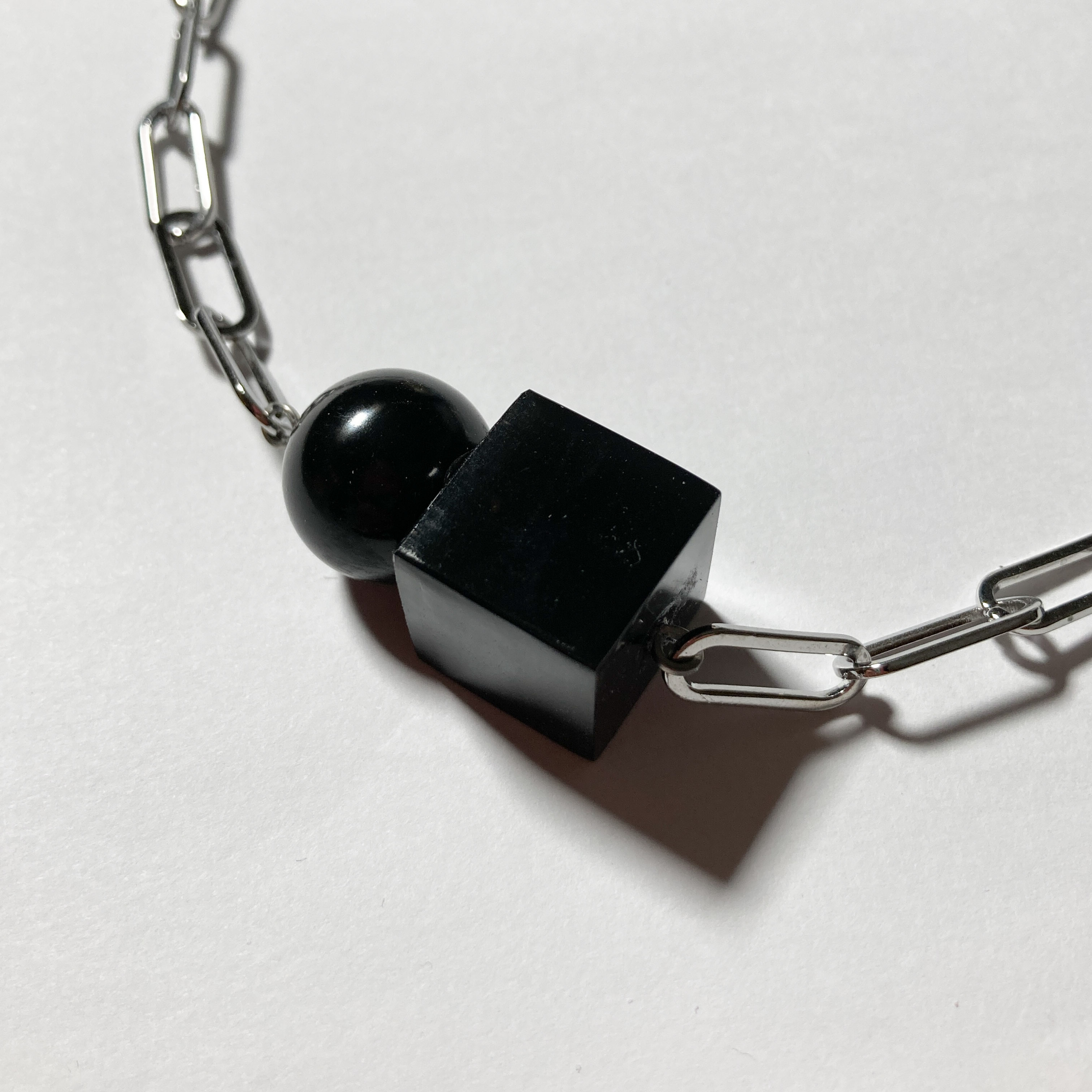 JELLY NECKLACE / ブラック