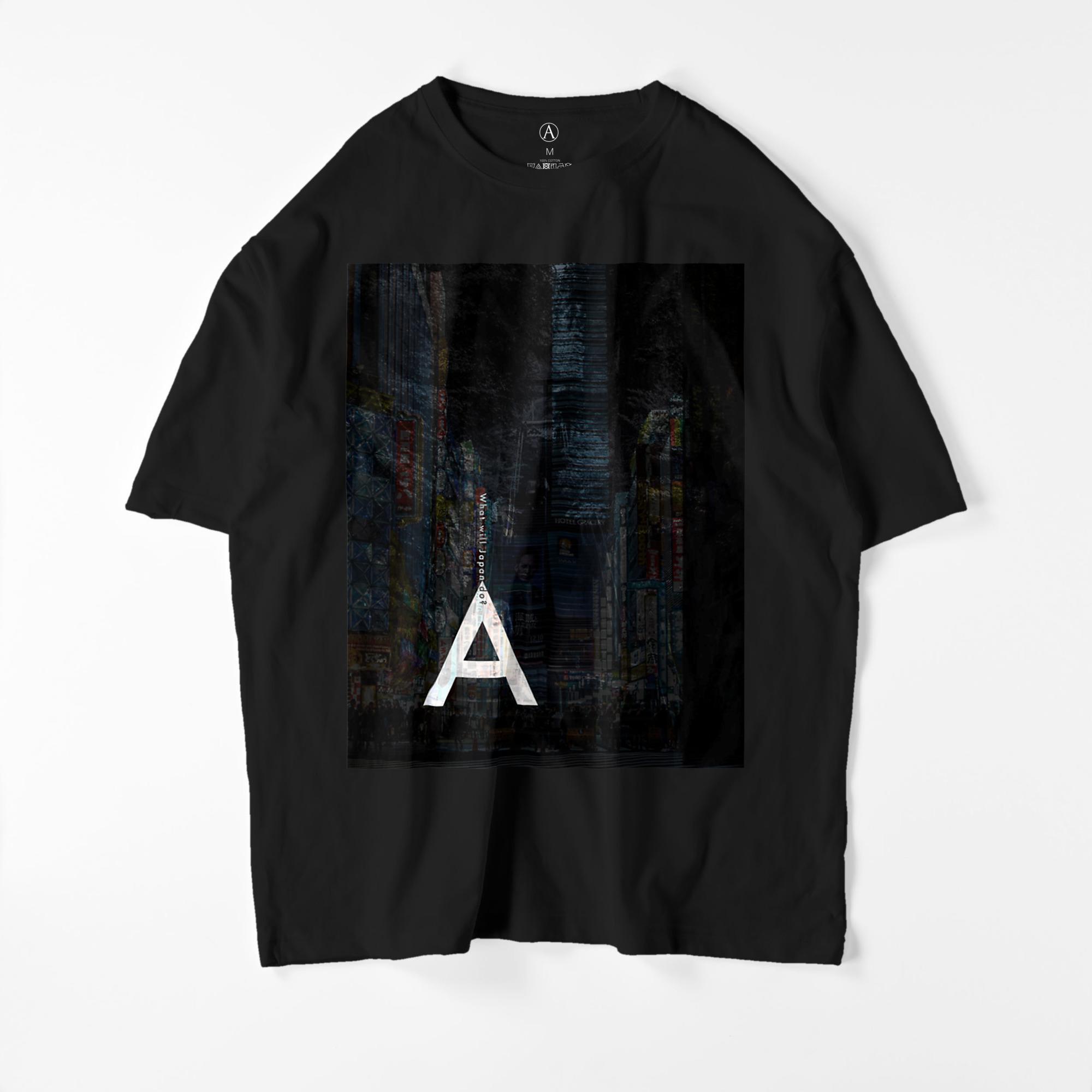 WWJD ビッグシルエットTシャツ ブラック / Mens