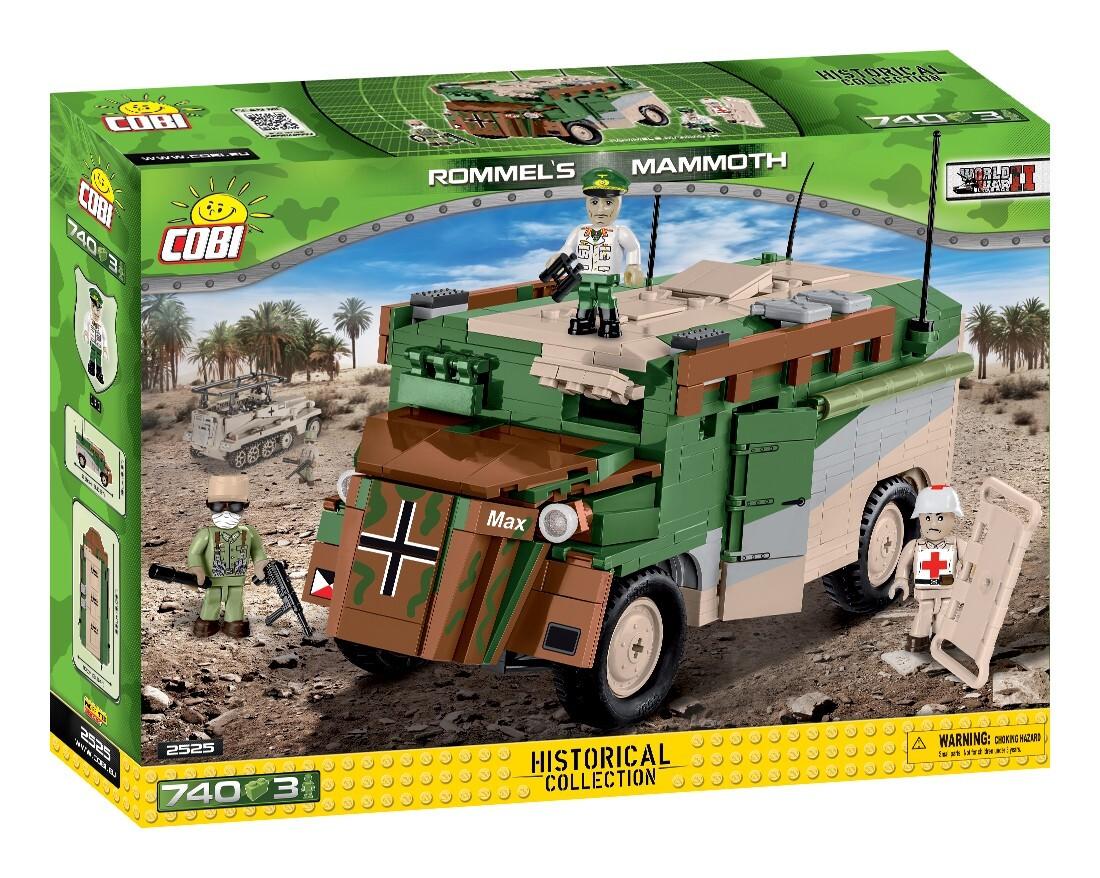 COBI #2525 ロンメル 装甲指揮車マンモス
