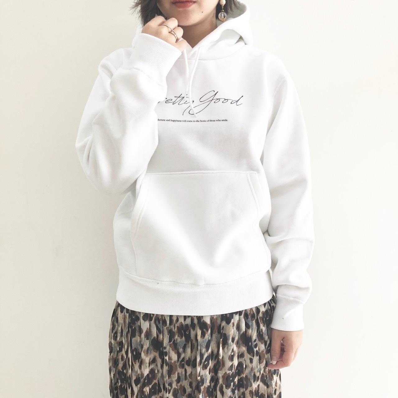 【 for the people 】- 193-010018 - Heavy duty sweetパーカー