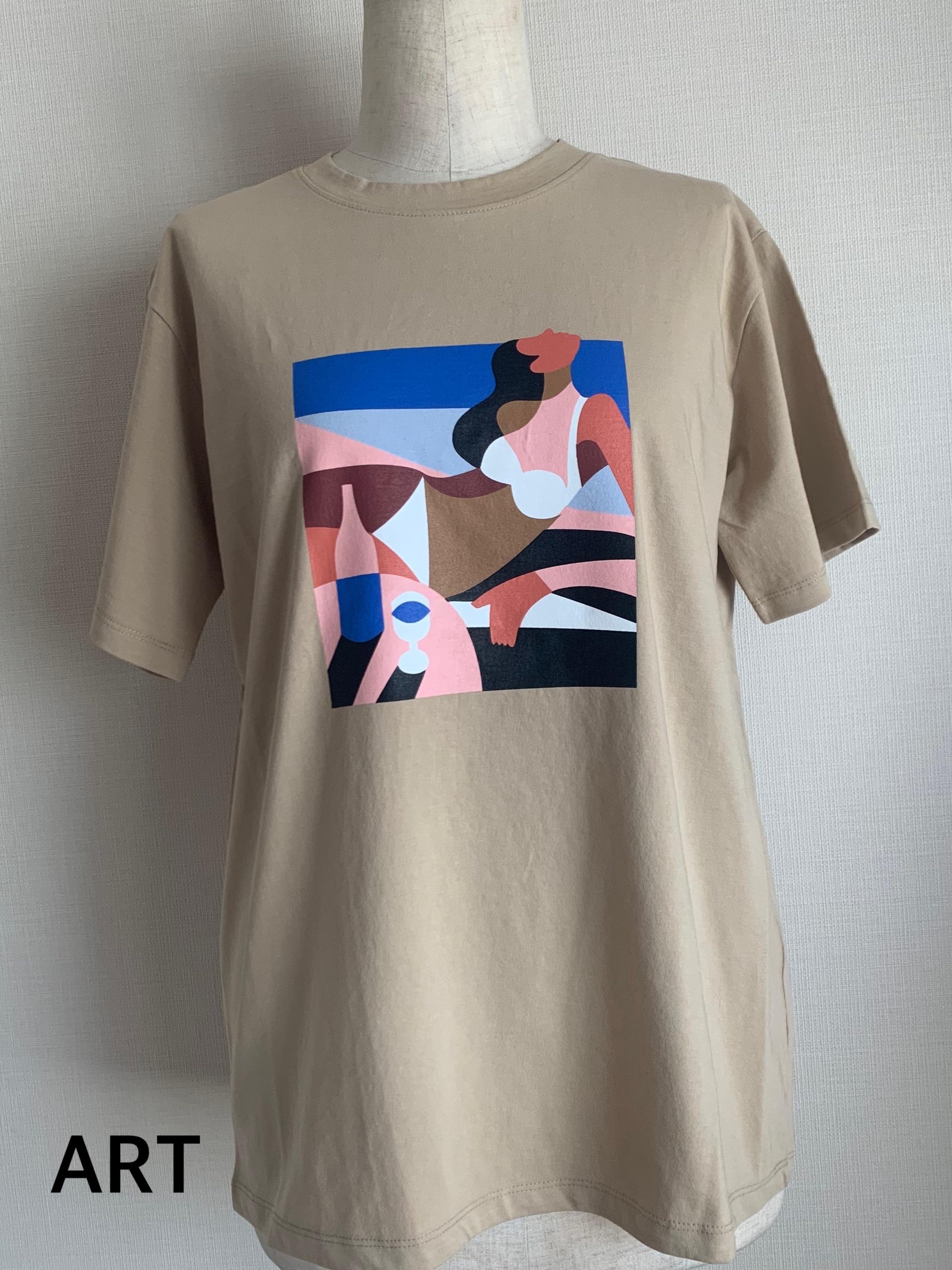 【マツミキセレクトTシャツ限定品】ART Tシャツのみ