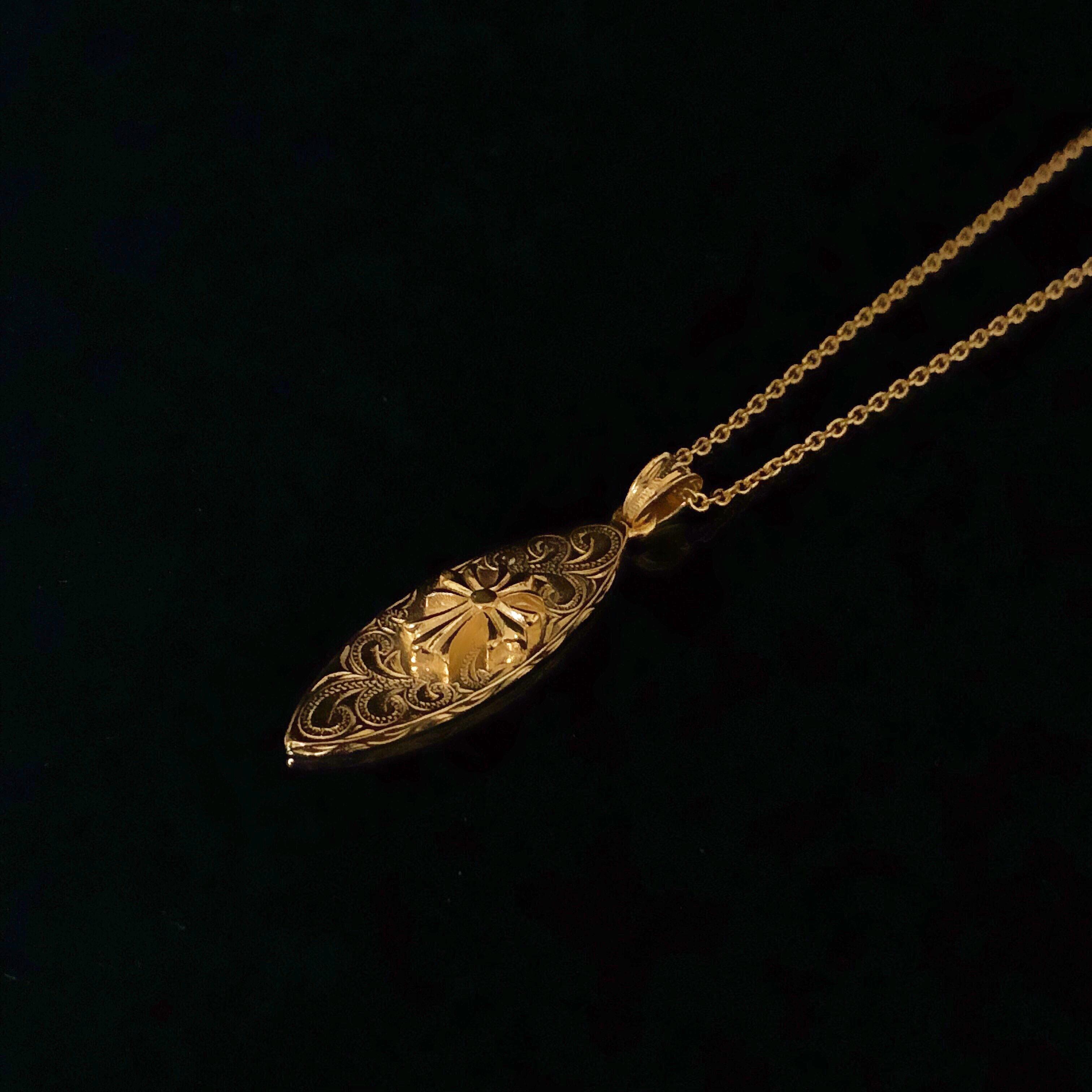 24kgp Hawaiian jewelry(surfboard×cross)