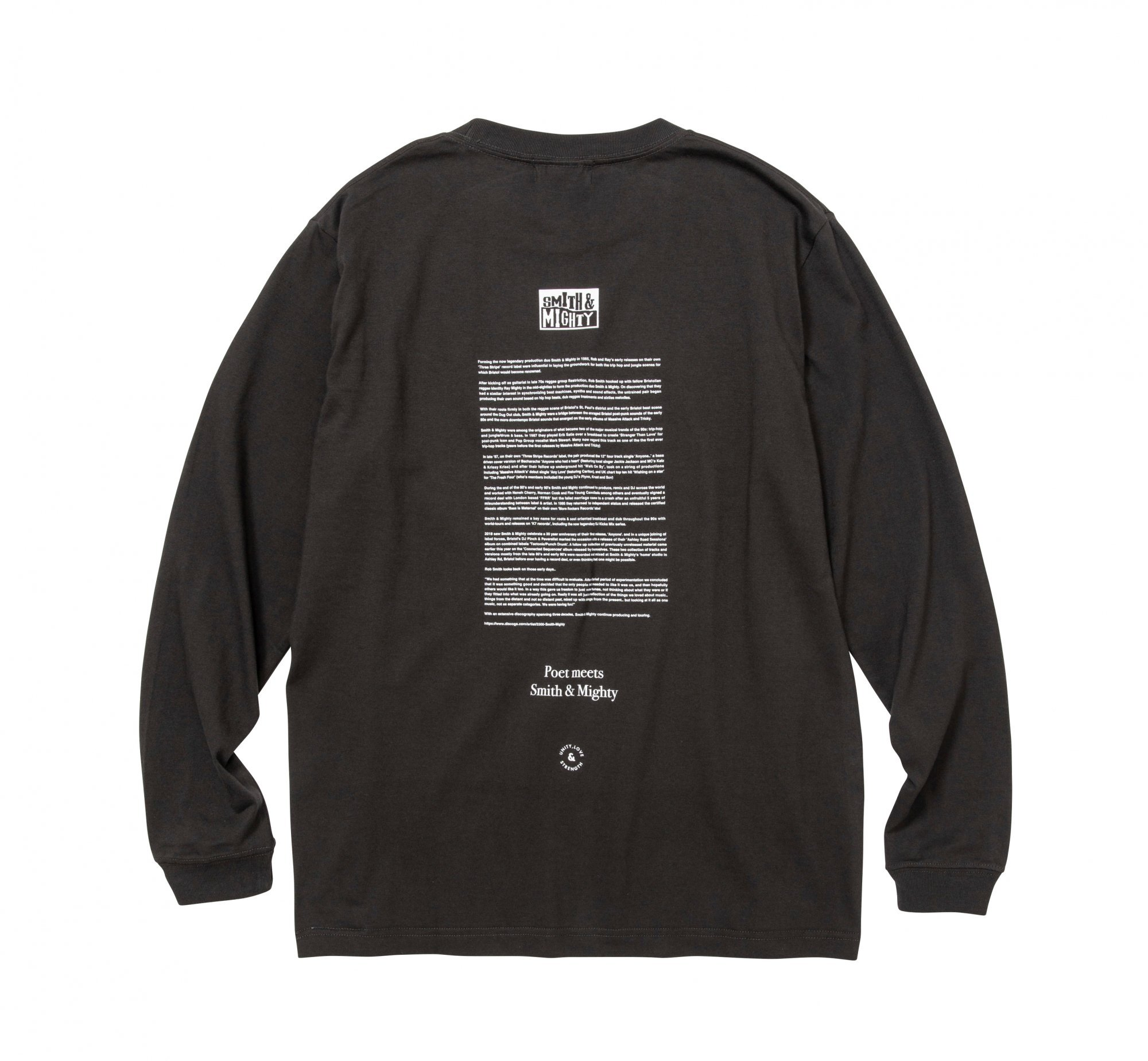 POET MEETS DUBWISE / SMITH & MIGHTY LONG SLEEVE TEE
