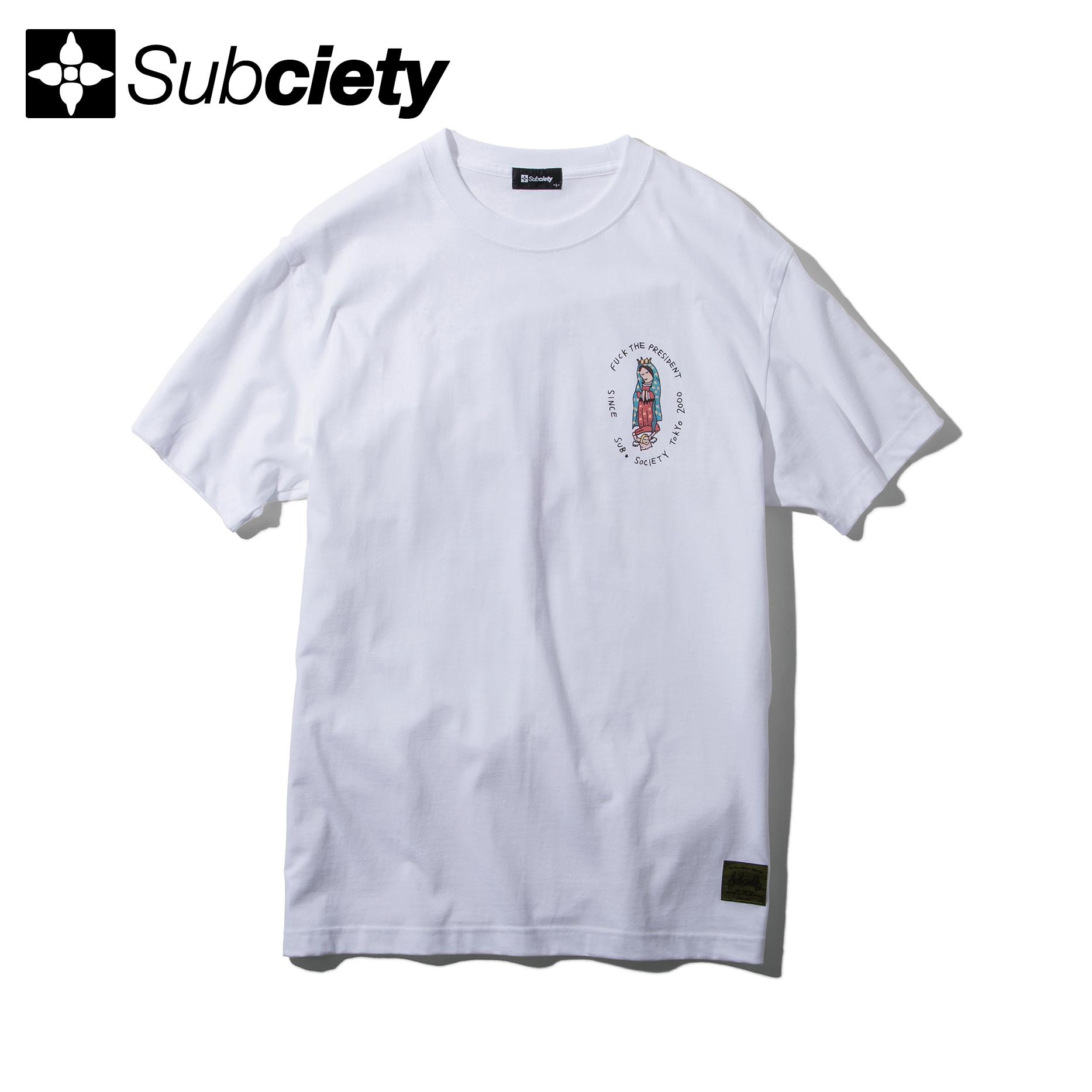 Subciety(サブサエティ) | Dear president S/S (White)
