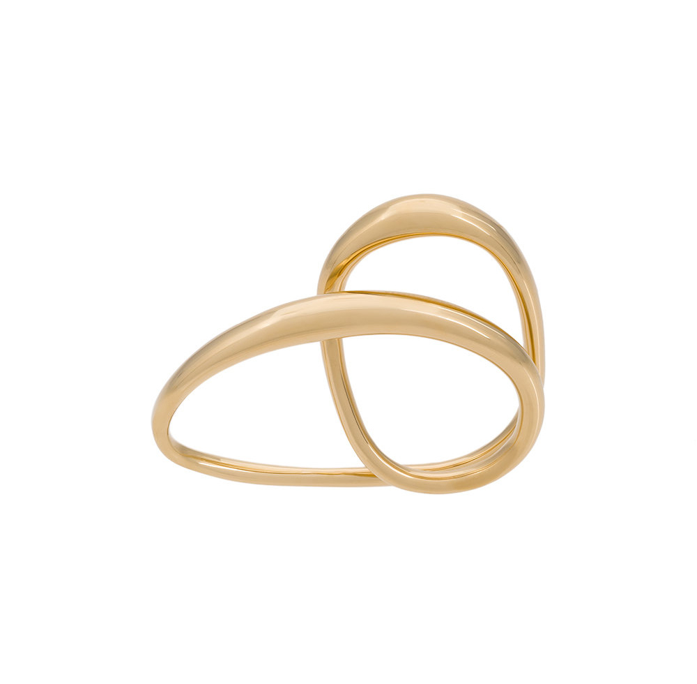 Charlotte Chesnais  HEART RING  YELLOW
