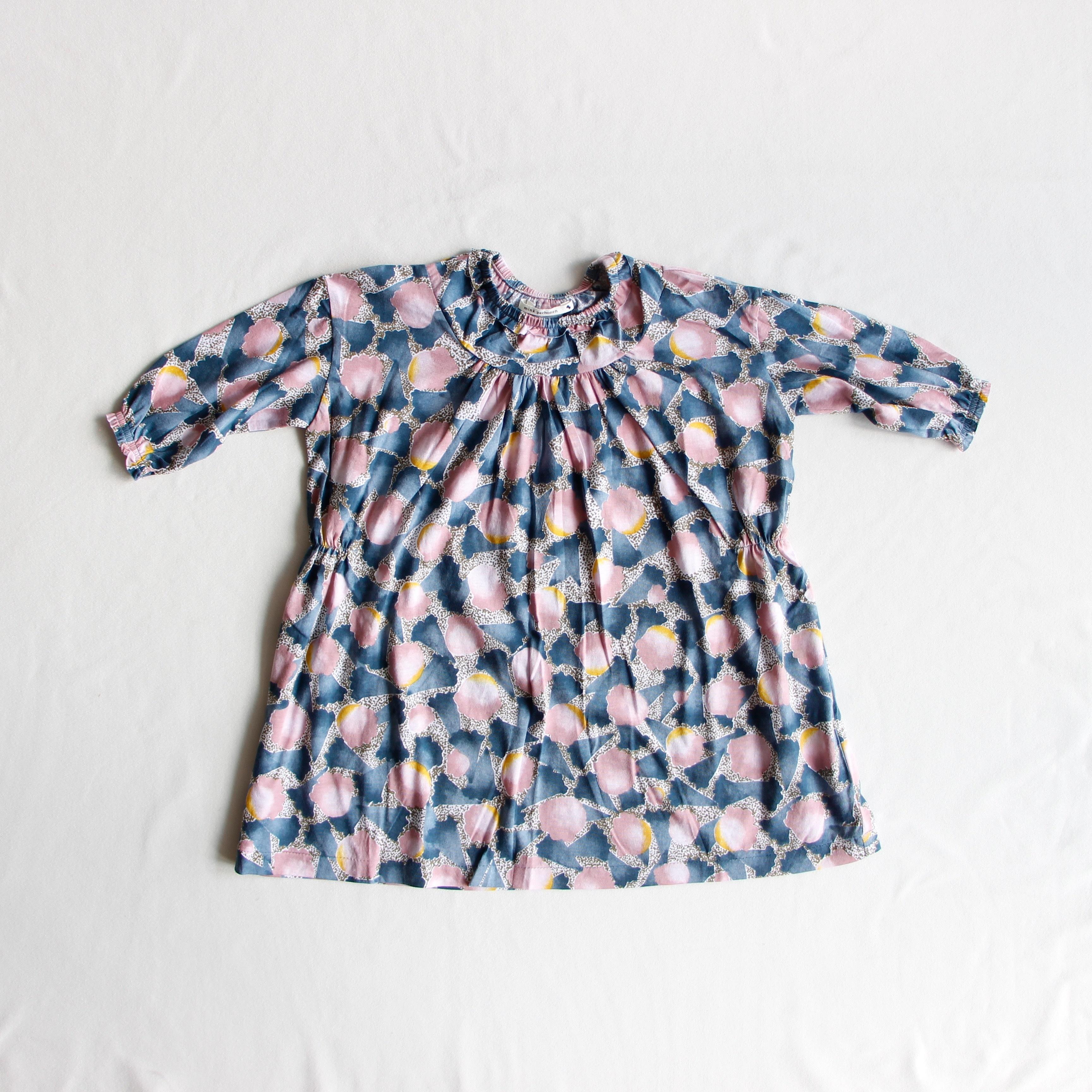《mina perhonen 2018AW》Ariel ワンピース / pink / 80-100cm