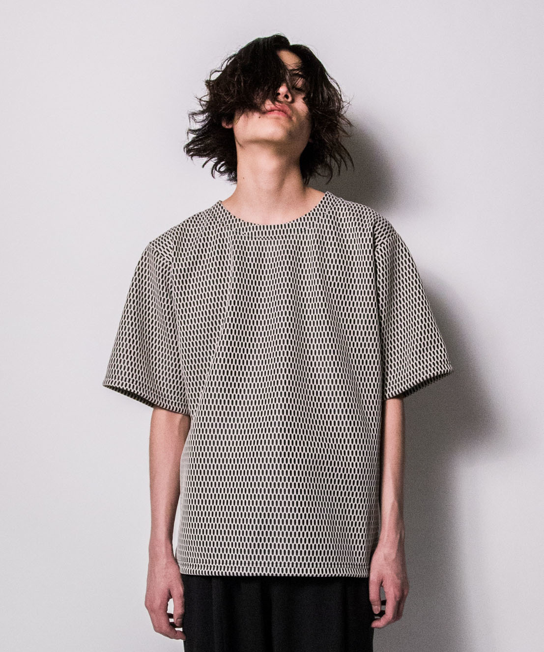 hs18SM-IR03 RUSSEL DROP SHOULDER TEE