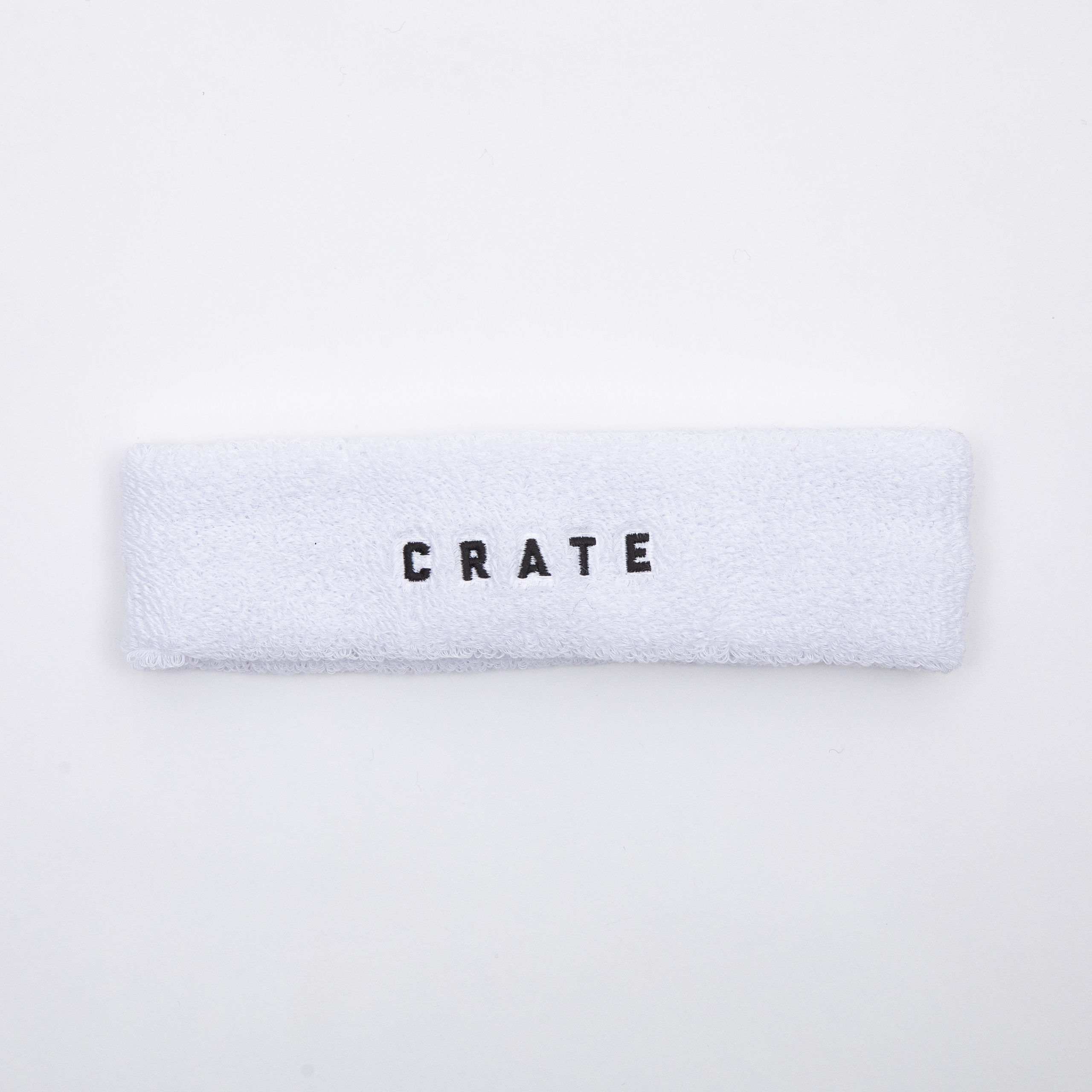 CRATE HEAD BAND White