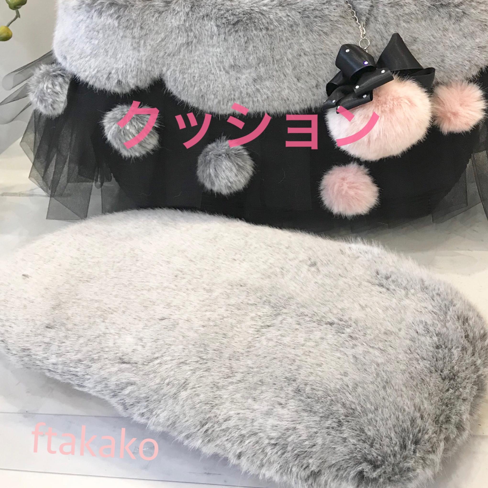 3キロサイズ用ドッグキャリー用エコクファークッション〜カスタマイズメニュー